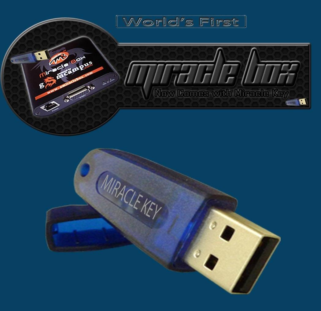 Miracle Box + Miracle Key Dongle